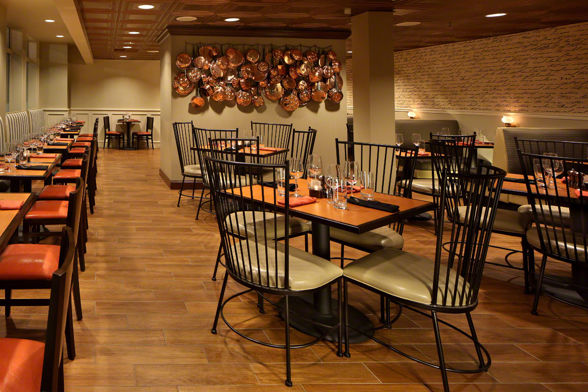 One Lincoln Food  Spirits  Breakfast Lunch And Dinner On - Hotel dining room furniture