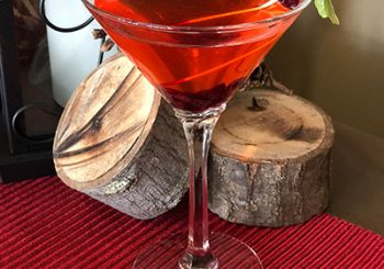 December Featured Cocktail – Mistletoe Martini